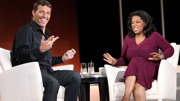 Tony Robbins and Oprah Winfrey to invest in the angelsolve auto lifecoach built by Richard Daguiar
