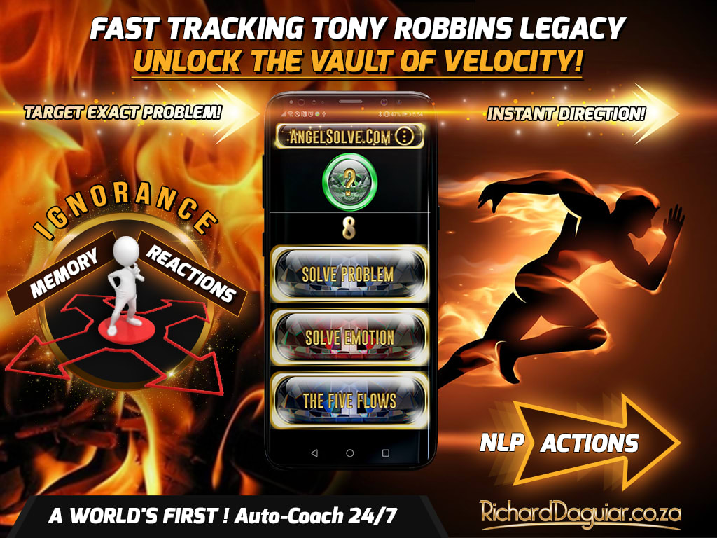Angelsolve Built by Durban Lifecoach Richard Daguiar for Investors like Anthony Robbins, Robbins research International, Banner2d