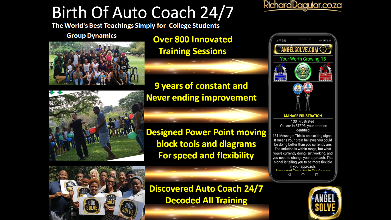 Tony Robbins free Auto Coach Angelsolve SLIDE DECK1 Auto Coach 24/7 is a World's First and it will extend Tony Robbins Legacy and Reach. Tony Robbins free Auto Coach Angelsolve SLIDE DECK10