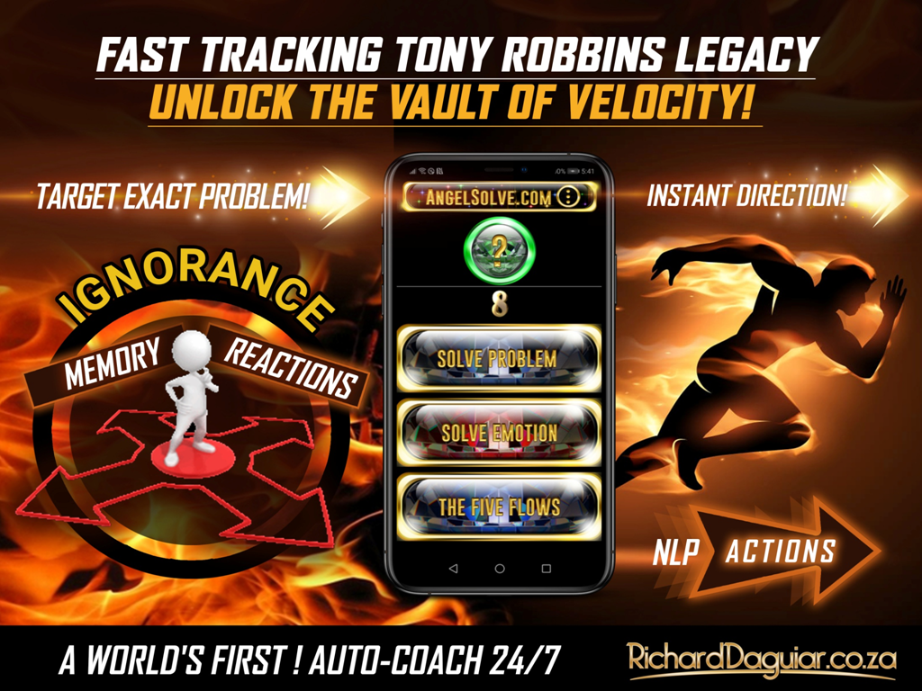 Tony Robbins free Auto Coach Angelsolve SLIDE DECK1 Auto Coach 24/7 is a World's First and it will extend Tony Robbins Legacy and Reach. Tony Robbins free Auto Coach Angelsolve SLIDE DECK14